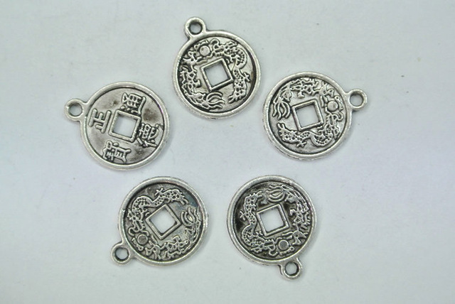 Alloy tags chinese qing dynasty antique coin charms dragon carved alloy tags chinese qing dynasty antique coin charms dragon carved pendant diy findings for jewelry making audiocablefo