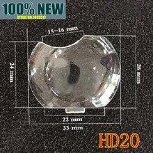 Новая Оригинальная линза пластиковая стеклянная оптическая линза выпуклое зеркало для Optoma hd20 HD20