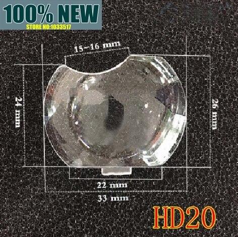 Neue original objektiv kunststoff glas optische linse konvexen spiegel für Optoma hd20 HD20