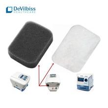 8 шт. одноразовый Универсальный Сменный фильтр хлопок для Devilbiss DV54/55/56/57 вентилятор постоянного положительного давления фильтры для домашнего ухода комплект на полгода
