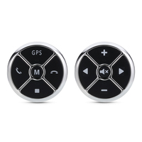 Universal Car Steering Wheel Controller Audio GPS Volume Music Controll Buttons Multifunctional Remote Control Car Styling