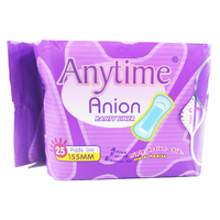4 Boxes 155 cm Panty Liner Women Feminine Hygiene Products Anion Cotton Sanitary Napkin Medicated Lady Sanitary Pads