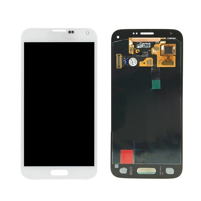 Display Lcd completo per Samsung Galaxy S5 Mini G800 G800F G800H Super AMOLED  3