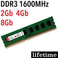 Bộ nhớ RAM DDR3 1600 RAM 8 Gb 4 Gb 2 Gb bộ nhớ ddr3 1600 Mhz PC3-12800/4 Gam 8 Gam-bảo hành trọn đời/'s cho Intel cho AMD máy tính để bàn