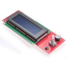 LCD display 2004 Smart Controller RepRap Ramps V1.4 3D Printer NEW 33d printer kit smart parts ramps 1 4 controller control panel lcd 2004 module display monitor motherboard blue screen