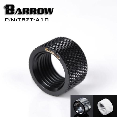 Barrow G1 / 4 '' Female to Female (Extender 10.5mm) PC water cooling system water cooling fitting TBZT-A10 barrow g1 4 female thread straight docking seat tube extend 7 5mm computer water cooling fitting tnyz g7 5