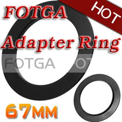 Free shipping!Fotga 67mm Adapter Ring for Cokin P series 67 mm