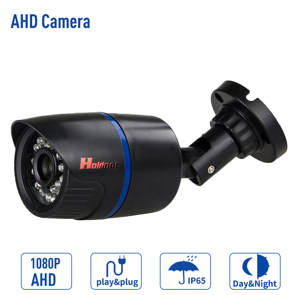 AHD Camera 1080P/720P Bullet Camera indoor 3.6mm Lens plastic shell Security Night vision cctv cam with IR-CUT bullet camera tube camera headset holder with varied size in diameter