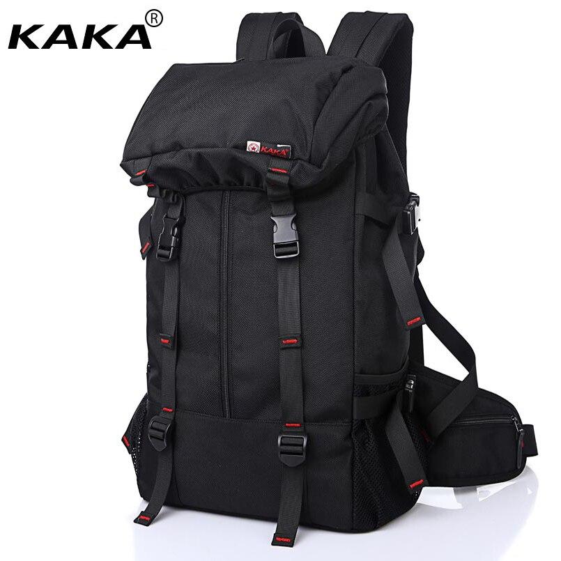 Nouveau Style européen KAKA voyage sac à dos militaire sacs à bandoulière imperméable Oxford Nylon hommes sacs à dos grande capacité bagages sacs-in Sacs à dos from Baggages et sacs    1