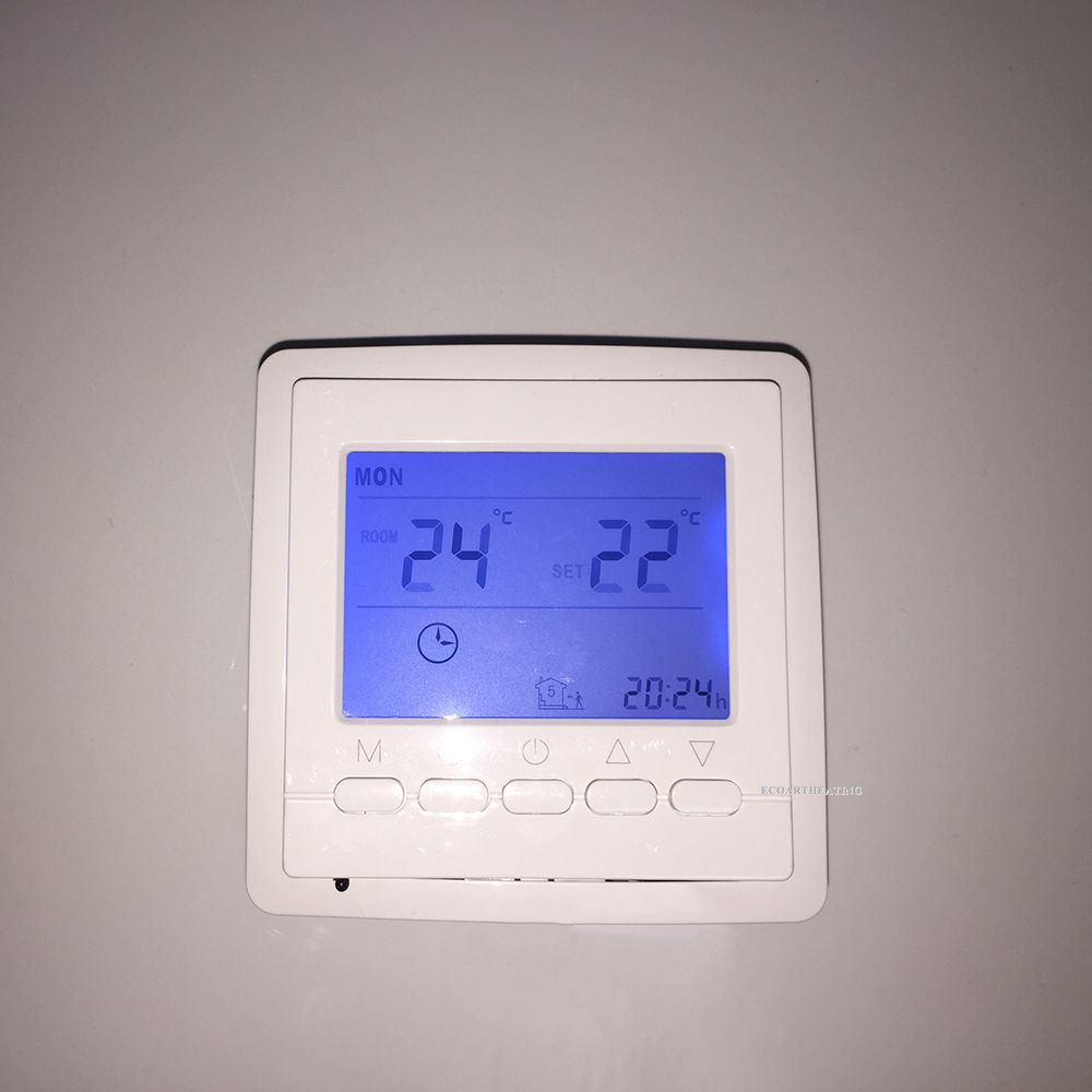 16A 200-240V Digital Electronic Room Thermostat Weekly Programmable Controller 16 240 1064355
