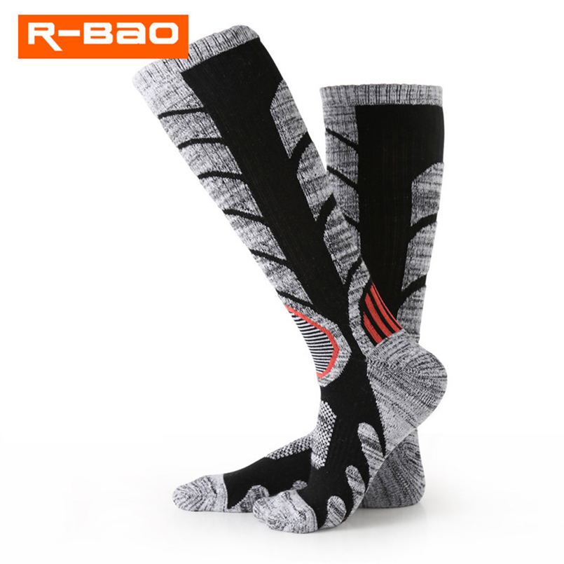 Men Women Sport Sock Resilience Professional Cycling Socks Terry fabric Climbing Hiking Camping Skiing