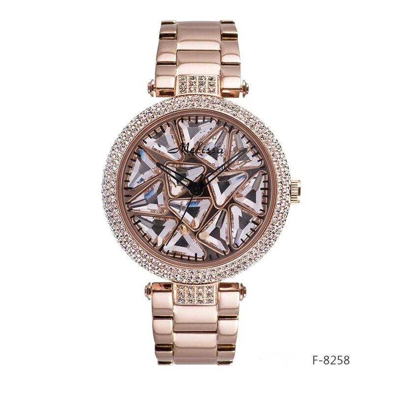 Melissa Luxury Rhinestones Women Jewelry Watches GOOD LUCK S
