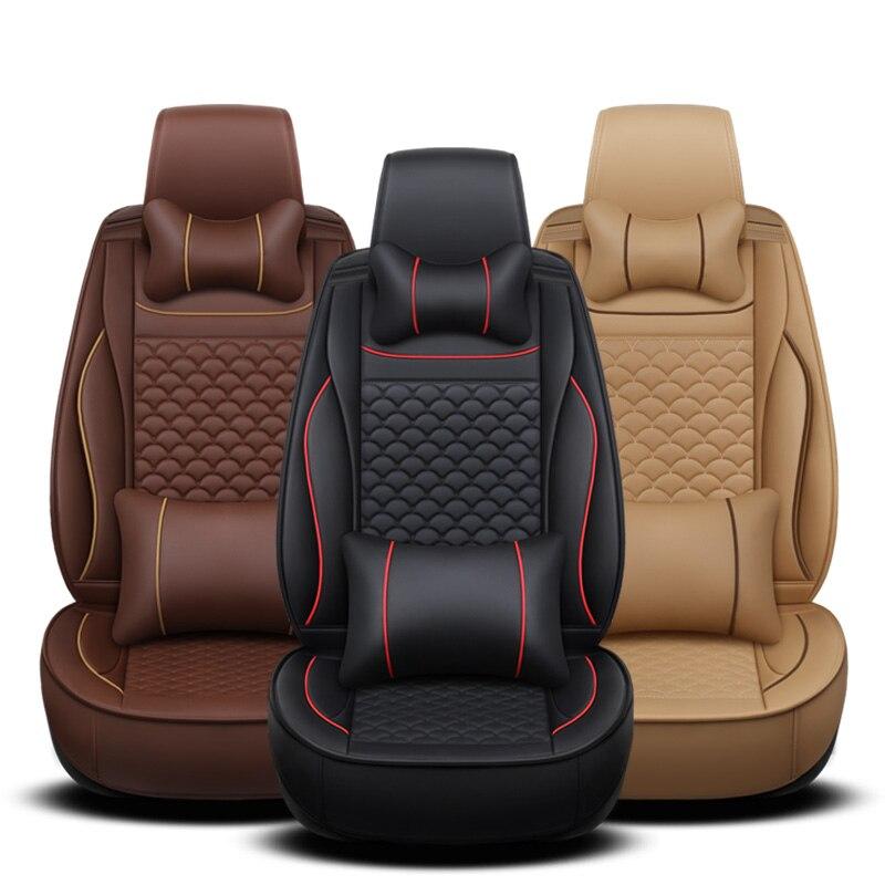 Universal Mitsubishi Car-Seat-Covers Accesso 5seats Mazda Subaru Nissan Honda Toyota