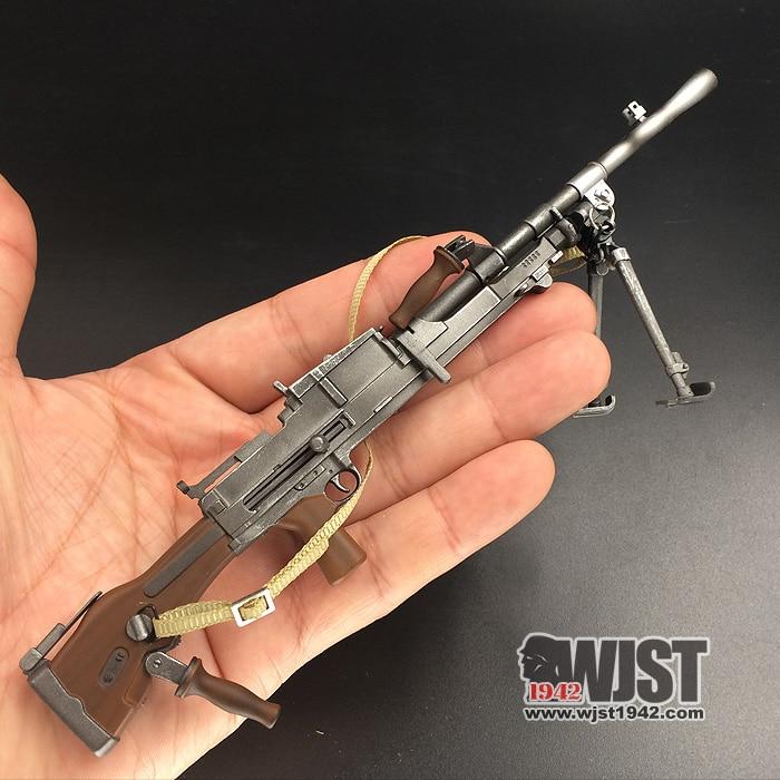 ZY2003 1:6 Ratio British Machine Gun World War II Action Figure Model Gun