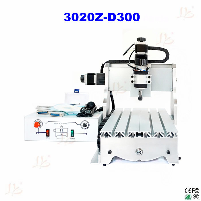 cnc 3040 3020 6040 router cnc wood engraving machine rotary axis for 3d work all knids of model number russian tax free free tax to EU CNC wood carver 3020 Z-D300 3axis CNC Router Machine for PCB wood milling