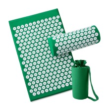Dropshipping Acupressure Mat Massager Relieve Body Stress Pain Mat Natural Relief Stress Body Massage Pillow Cushion with bag