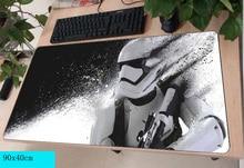 Star Wars коврик для мыши геймер 900×400 мм notbook коврик для мыши гель большой игровой коврик для мыши мультфильм коврик для мыши стол для компьютера padmouse аксессуары