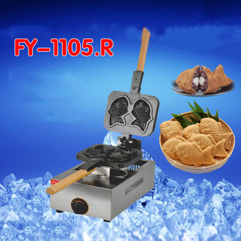 1 PC FY-1105.R Article 2 gas non-stick fish cake machine grilled fish cake machine snapper pathogenesis