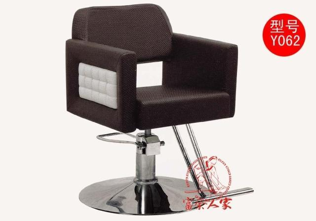 Y062 can lift European beauty salon haircut stool. Don't put down a chair