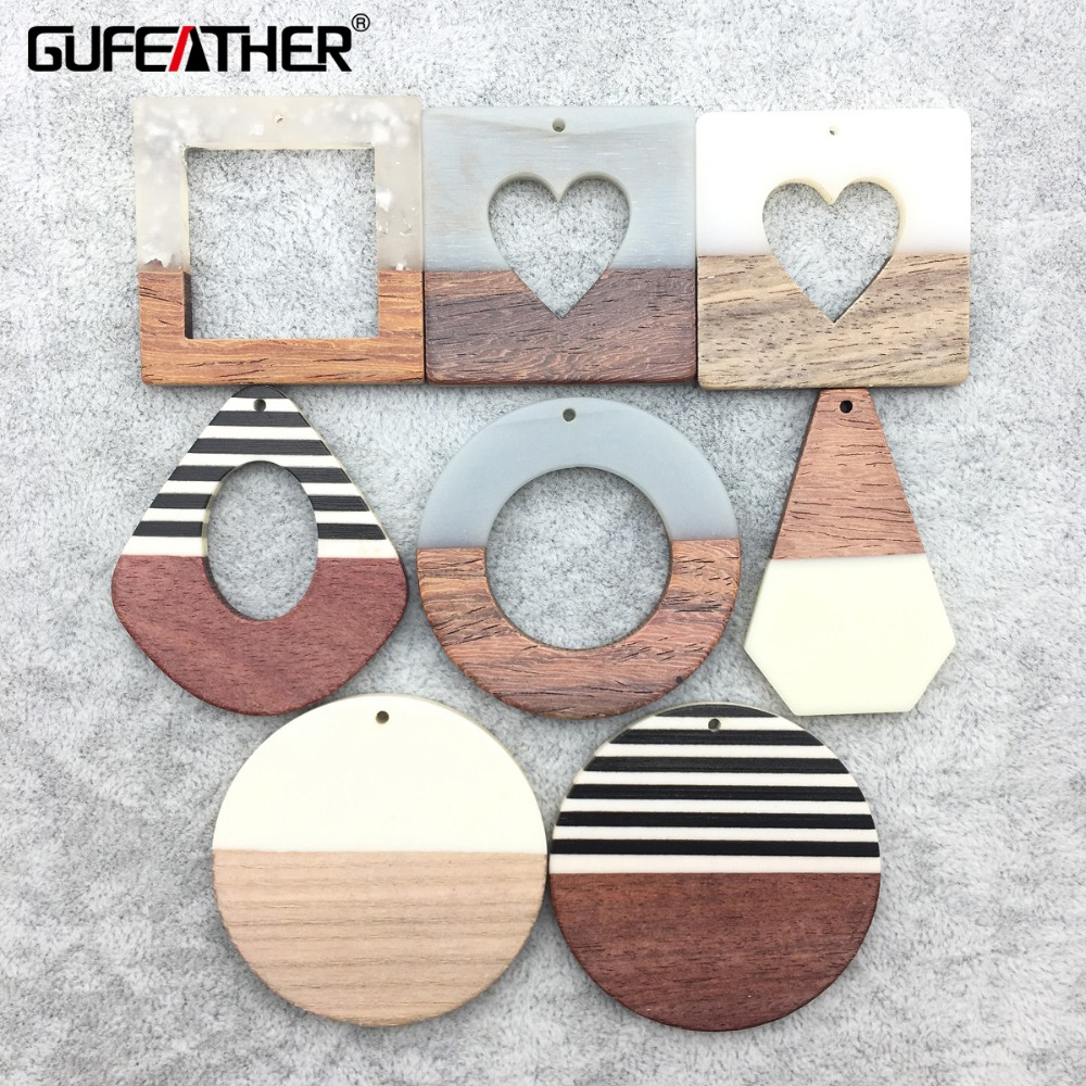 GUFEATHER M188,jewelry Making,wood Acrylic Earrings,jewelry Findings,charms,diy Pendant Jewelry,hand Made,earrings Accessories