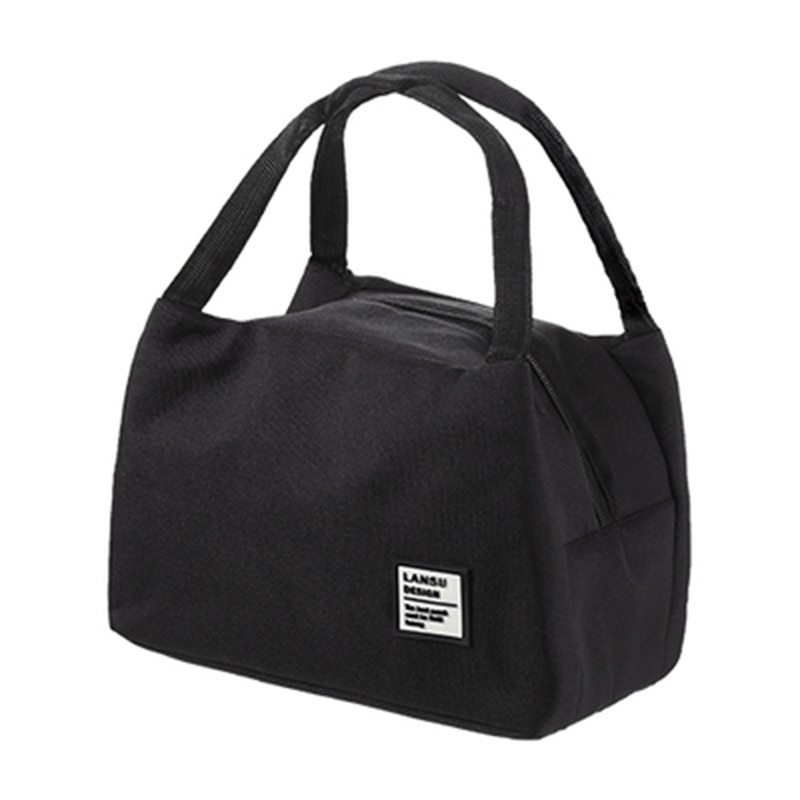 2019 New Thermal  Insulated For Women Kids Men Canvas Box Tote Bag Thermal Cooler Food Lunch Bags