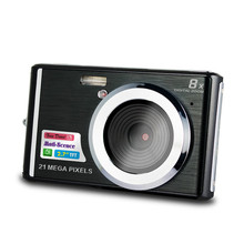New 21mp Digital Camera Gift Promotion Low Price Camera 2.7 Inch 8 Times Digital Zoom Mini