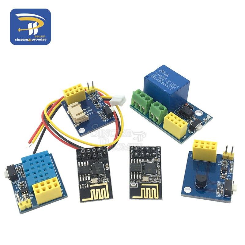 1Pcs ESP8266 ESP 01 ESP 01S RGB LED Controller Module DIY DC 3 7V 5V