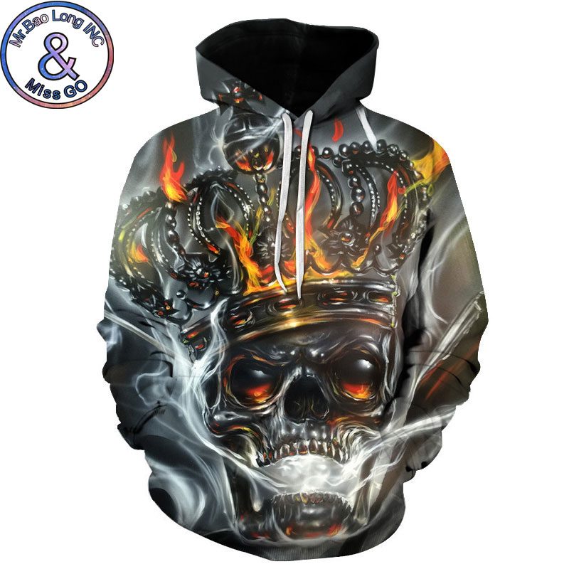 Realistic Movie Stephen Kings It Penny Wise Clown Print 3d Hoodie Men Hooded Sweatshirts Sudadera Hombre Boys Pullover Tracksuit Jacket Beautiful In Colour Men's Clothing