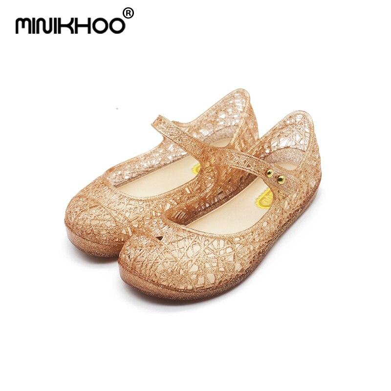 מיני מליסה 2018 ילדים חדשים ג'לי סנדלים - נעלי ילדים