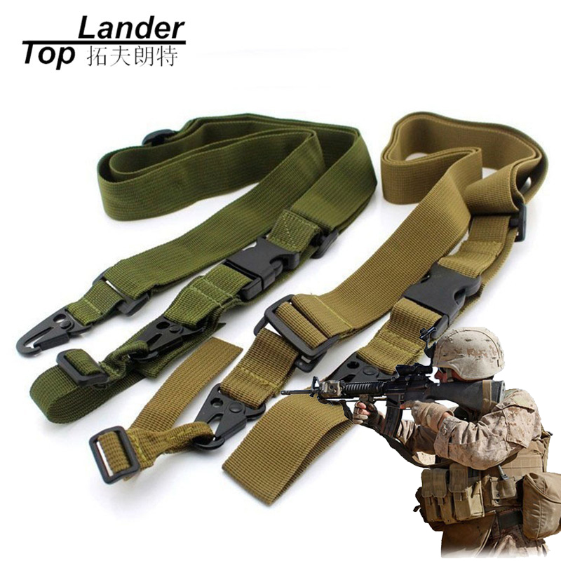 Tactical Gun Sling Belt 3 Point Adjustable Rifle Tactical Hunting Belt Military Hunting  ...
