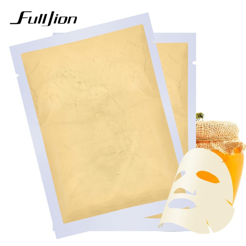 Fulljion 24k Gold Mask Powder Collagen Face Masks Whitening Moisturizing Acne Treatment Anti Wrinkle Facial Mask for Skin Care Facial mask