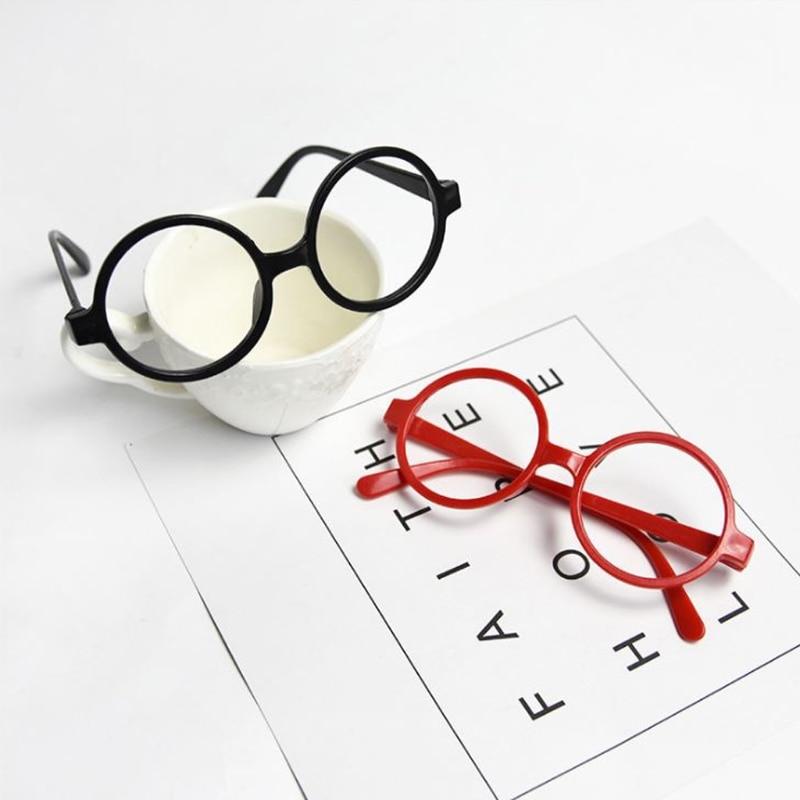 Childrens Kids Round Shape Black Or Red Frame Harry Potter Glasses Christmas Gift