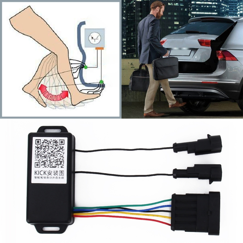 Universal Car Smart Trunk Opener IP67 Waterproof 9 24V Car Keyless Go Easy Open Automatic Sensor