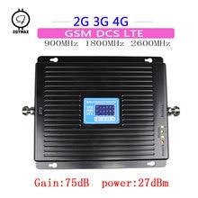 ZQTMAX 75dB 2G 3G 4G Booster gsm Repeater UMTS Network Tri B