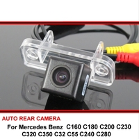 For Mercedes Benz C320 C350 C32 C55 C160 C180 C200 C230 C240 C280 SONY Car Reverse Backup HD Rearview Parking Rear View Camera