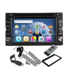Pure Android 4.2 Car Radio GPS Nav Double 2 Din In Dash Car Stereo DVD CD MP3 Player Screen Mirroring iPod Bluetooth USB SD Wifi