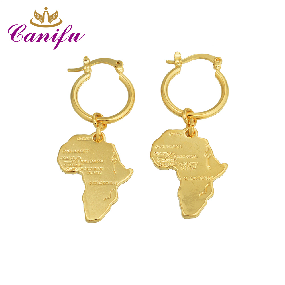 Africa Map Earings PromotionShop for Promotional Africa Map