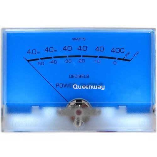 High-precision VU Meter Audio Pre-amplifier Power Meter DB Level AMPS Power Amplifier Meter with Backlight