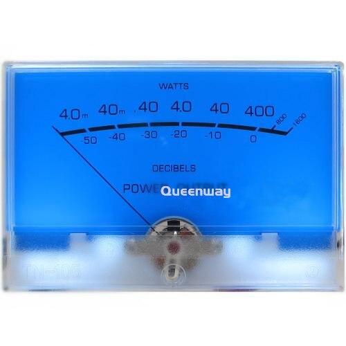 V-035 High-precision VU Meter Audio Pre-amplifier Power Meter DB Level AMPS Power Amplifier Meter with Backlight цены