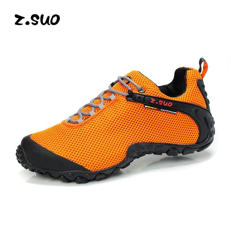 Mannen schoenen mannen mesh sneakers schoenen ademende schoenen mannen wandelschoenen-in Eenvoudige Laarzen van Schoenen op  Groep 1