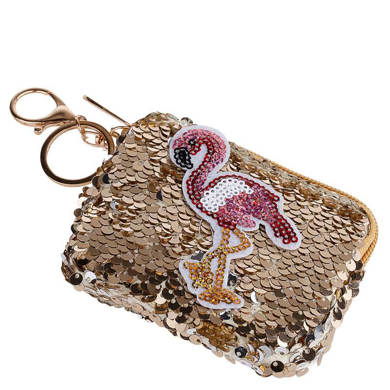 Junlead Sparkly sequines women Butterfly coin purse pocket change wallet  for girls Key Chains cute kawaii card holder Coin PurseUSD 4.25 piece. 13  12 ... 749b344e040a
