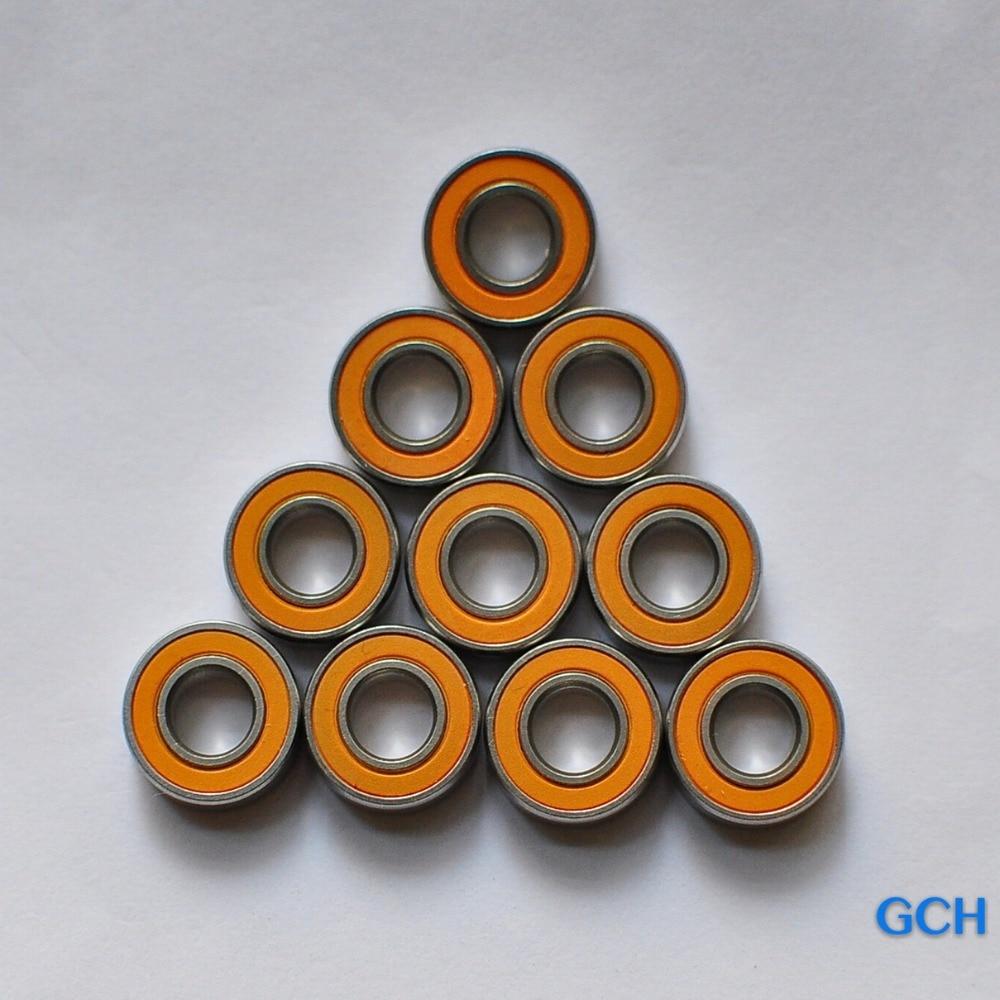 Free Shipping 3X10X4 10PCS 5x11x4 5pcs Stainless Steel Hybrid Ceramic Bearings Fishing Reel Bearings By GCH