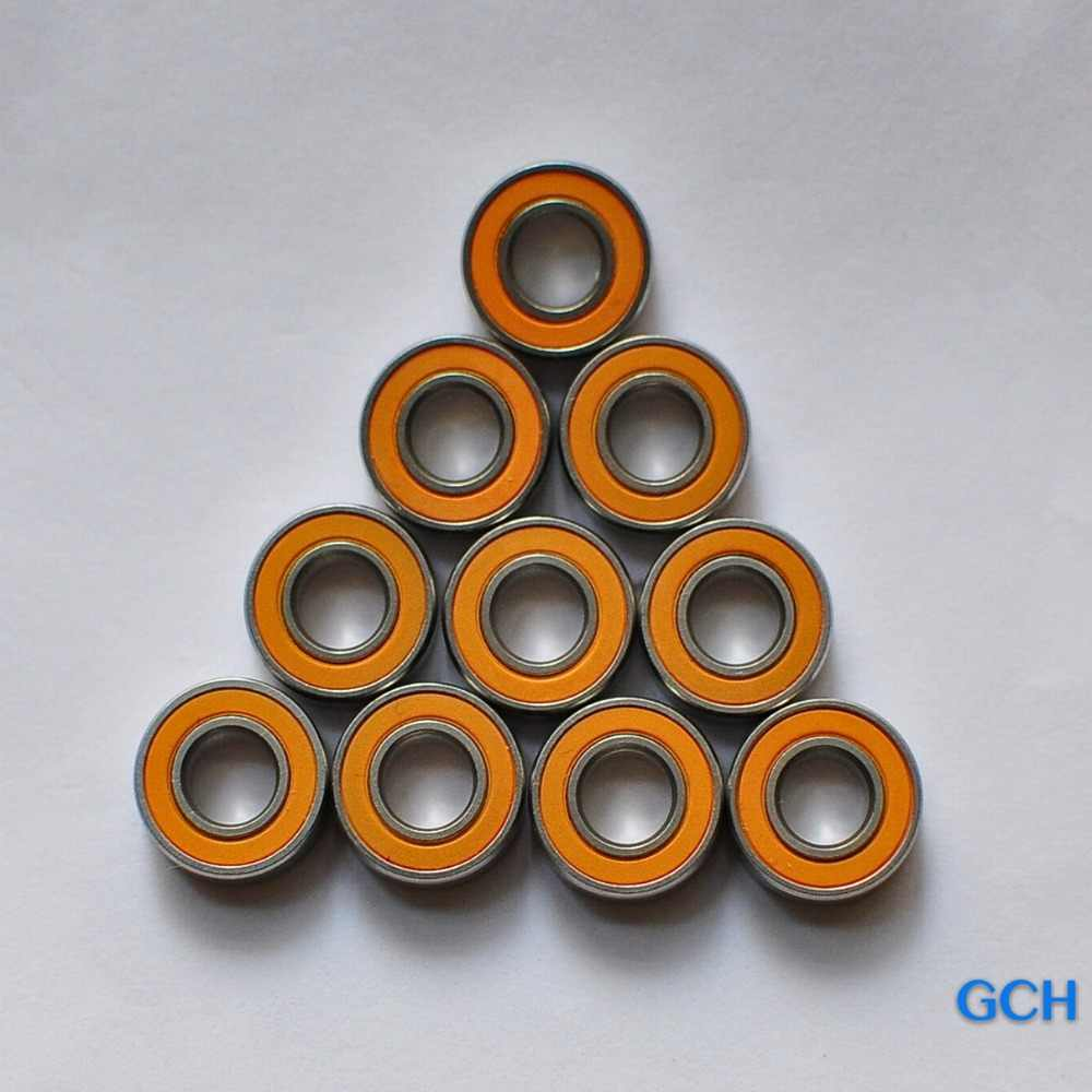 Free Shipping 3X10X4 10PCS ,5x11x4 5pcs Stainless Steel Hybrid Ceramic Bearings Fishing Reel  Bearings By GCH