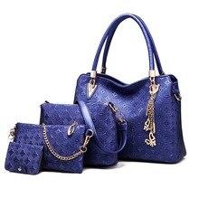 Women Tote Bag Composite Package Shoulder Bag Handbag Crossbody Ladies Bag Suit