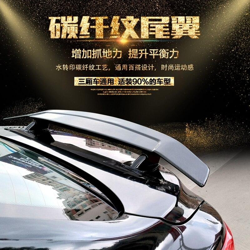 Для Lexus IS ES GS 250 спойлер 2006 2012 Lexus IS300 IS350 Спойлер ABS пластиковый материал заднее крыло автомобиля цветной задний спойлер