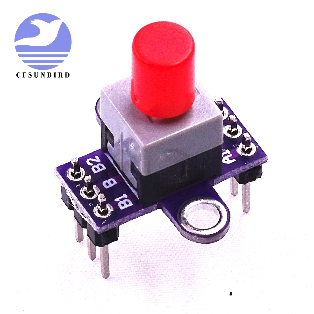 Double Switch With Lock Switch Diy Kit Skill Training Mini Version Active Components Clever 10pcs/lot Self Locking Switch With Lock Key