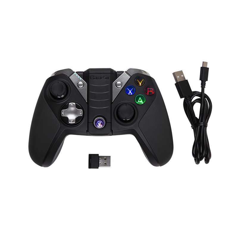 GameSir G4/G4s Bluetooth Gamepad For Android TV BOX Smartphone Tablet, Optional 2.4Ghz Wireless USB Dongle Receiver цена