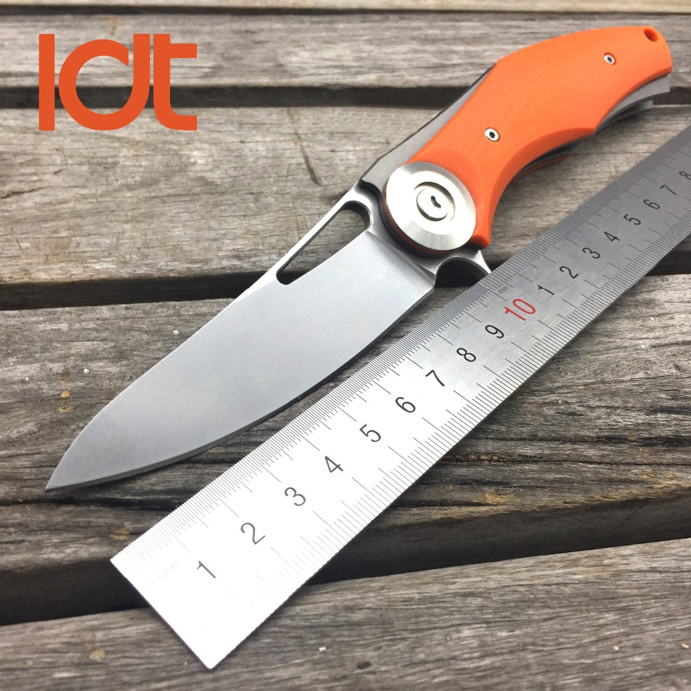 LDT Bear Dark <font><b>Wild</b></font> <font><b>Boar</b></font> Folding <font><b>Knife</b></font> D2 Blade Steel G10 Handle Tactical <font><b>Knives</b></font> Camping <font><b>Knife</b></font> Survival Pocket Tools EDC OEM image