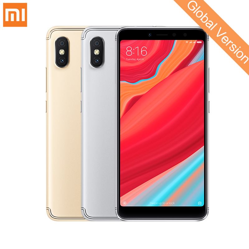 Mondial Version Xiaomi Redmi S2 4 gb 64 gb MIUI 9 Smartphone 5.99 18:9 Plein Écran Snapdragon 625 Octa core 16MP Avant Caméra