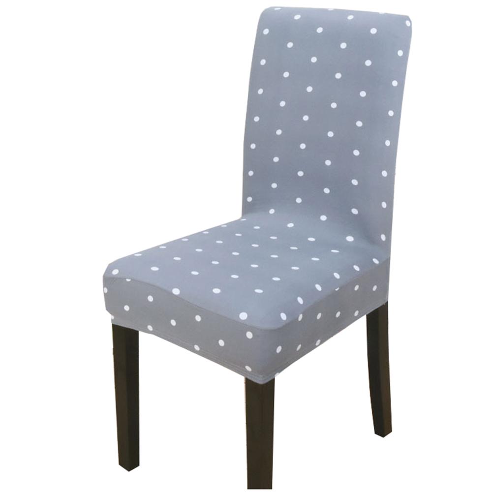 Ikea Eetkamer Stoelhoezen.White Dot Chair Cover Spandex Stoelhoes Eetkamerstoel 2018 New